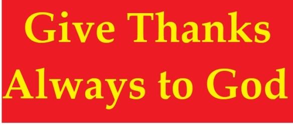 thanks always